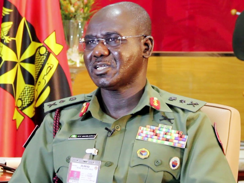 Buratai tasks army officers on accountability, transparency