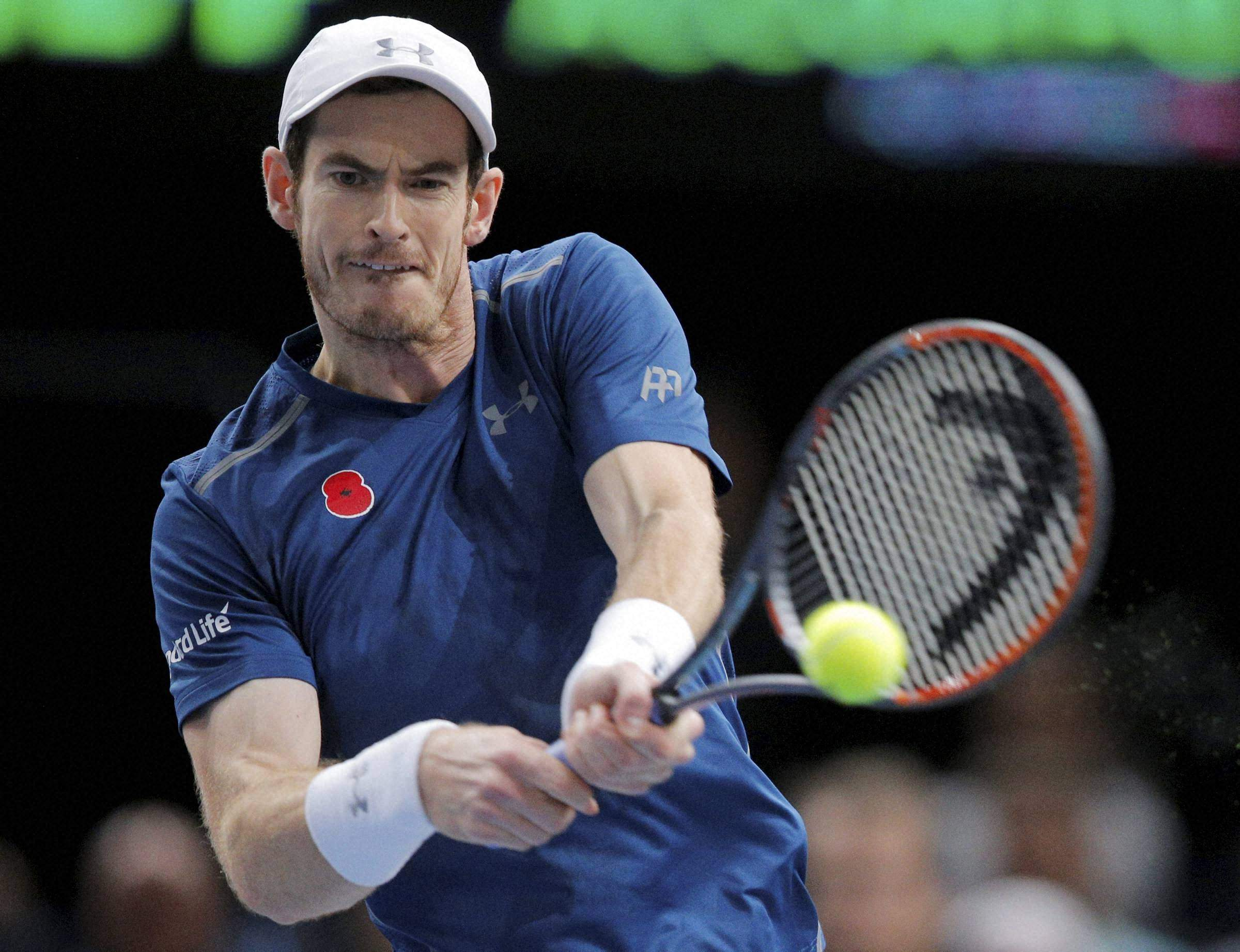 Murray marks Grand Slam return by clawing out 5-set win