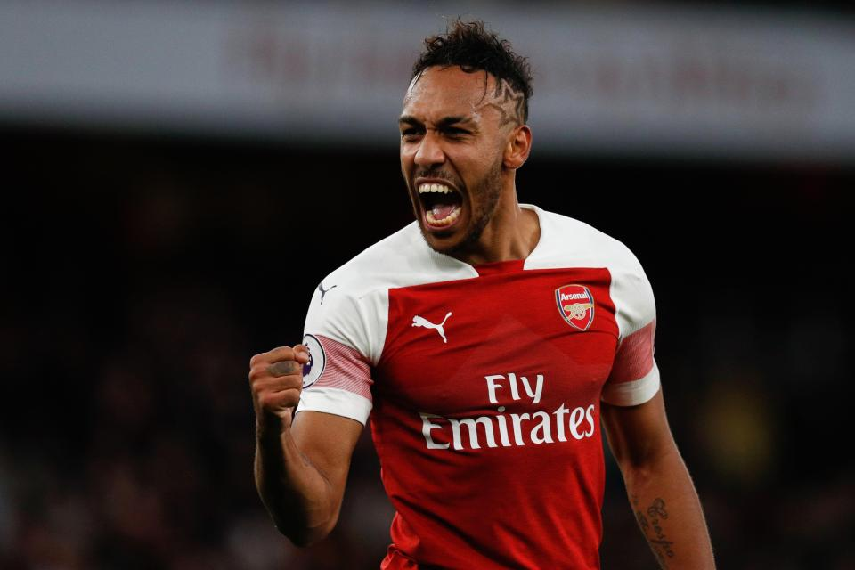 Aubameyang's brace gives Arsenal win over Newcastle