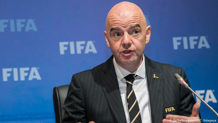 FIFA president meets Trump to discuss 2026 World Cup finals