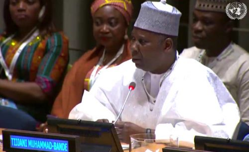 Nigeria's Muhammad-Bande bows out as UNGA President