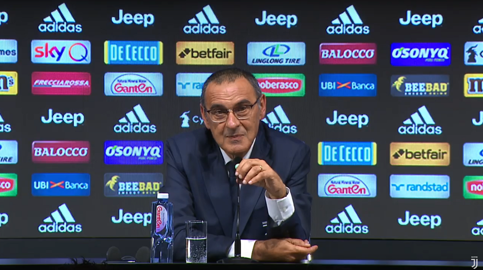 Don't expect great football, Sarri tells Serie A fans