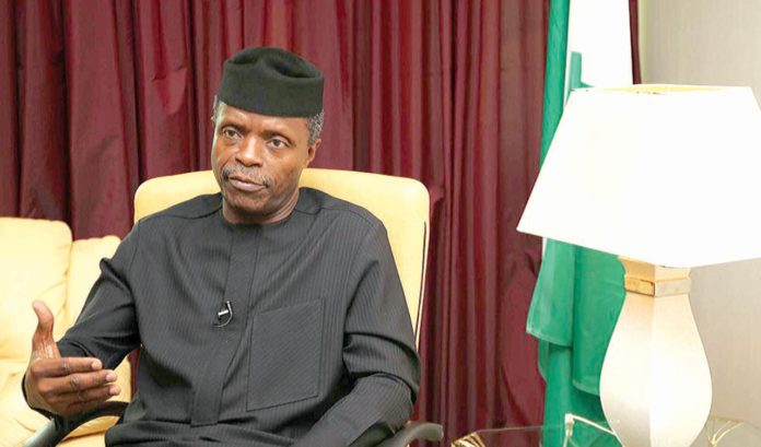 Osinbajo to supervise formation of N1trn coy to tackle infrastructure deficit