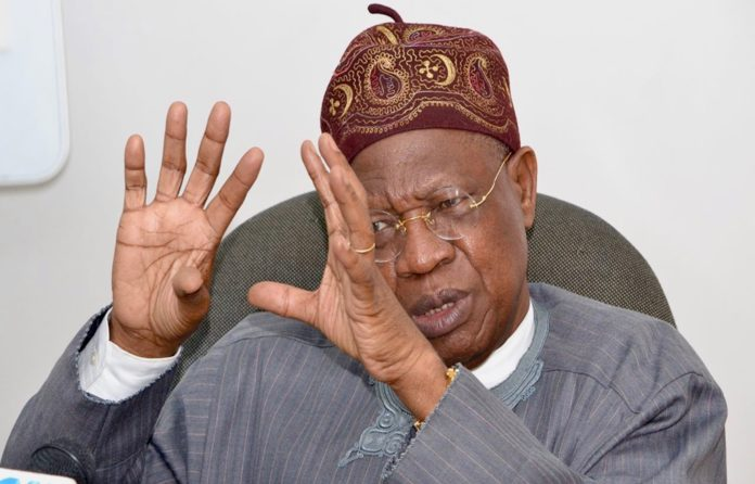 Late Nda-Isaiah, a patriot – Lai Mohammed