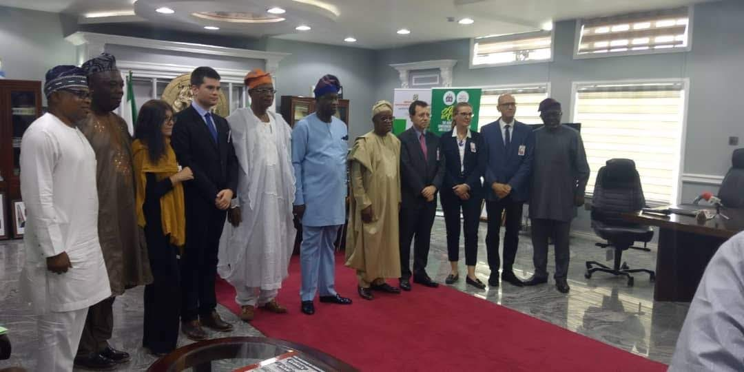 Image result for DEVELOPING OSUN STATE GOV OYETOLA PARTNERS FRENCH GOVERNMENT