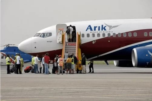 Curfew: Arik Air resumes operations to other states