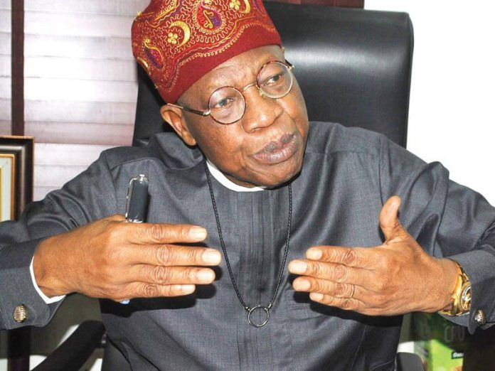 Why FG amended National Broadcasting Code – Lai Mohammed