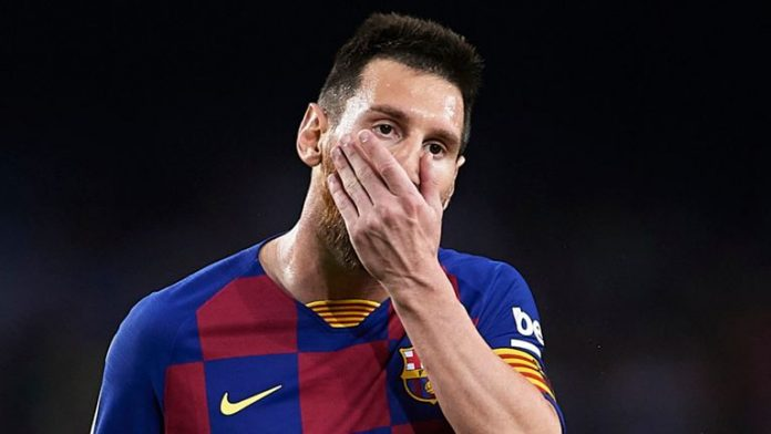 I'm tired of being blamed for everything at FC Barcelona - Messi
