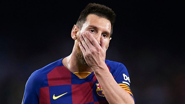 Messi sends document to Barcelona, says he wishes to leave