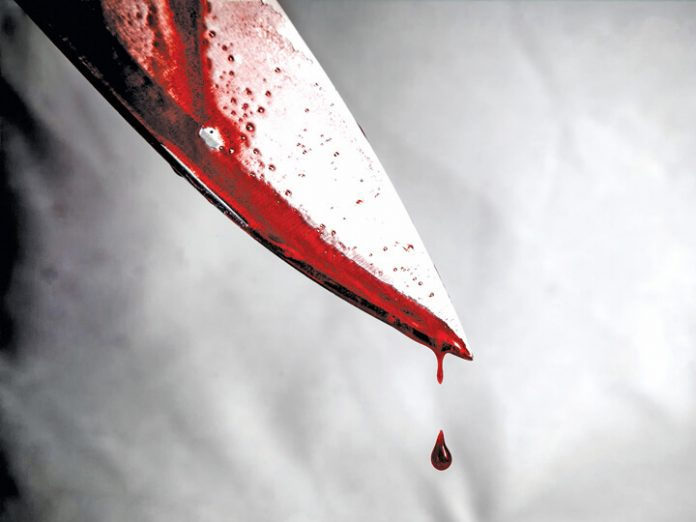 Man stabs neighbour in the buttocks with knife