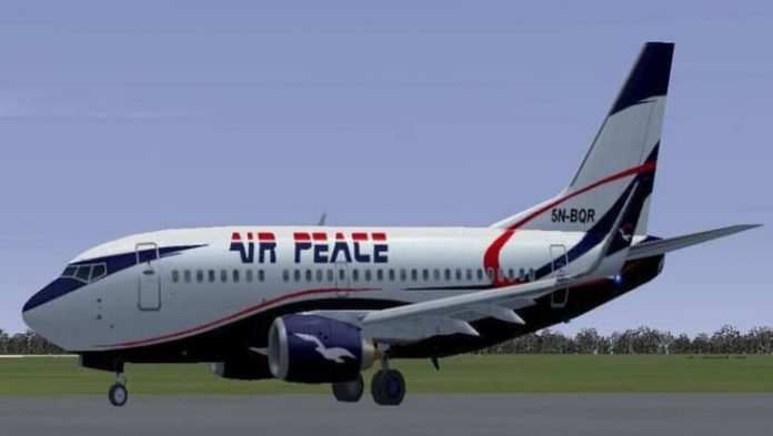 Air Peace receives another ERJ-145 from C-check
