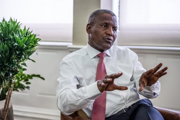 Dangote foundation donates N1.5bn to Nigeria/ UN COVID-19 basket fund