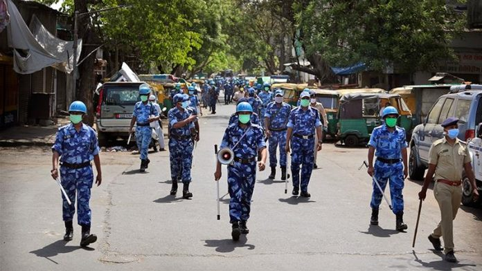 5 Indian policemen arrested over death of father, son