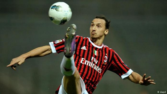 Ibrahimovic's Ibrahimovic scores twice as leaders AC Milan ease past Cagliariquickfire double gives Milan 2-1 derby win