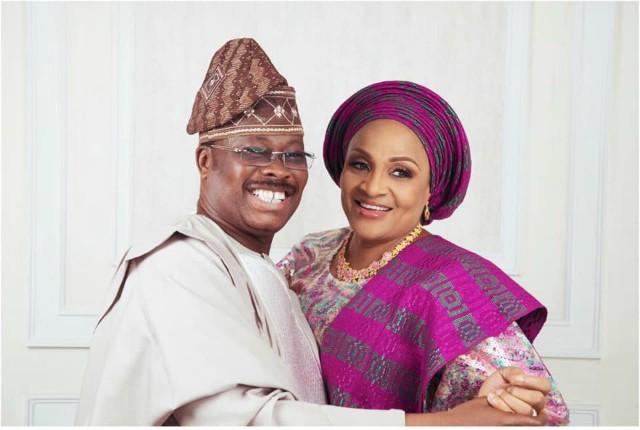 I caught my husband cheating on me twice - Ajimobi's wife