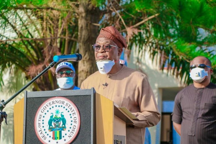 Oyetola inaugurates committee on mining pollution