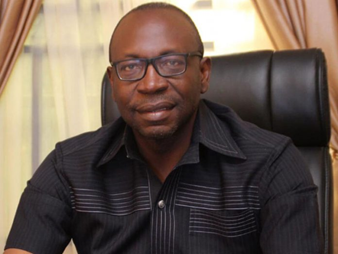 Edo Election: Buni, Bello meet Ize-Iyamu in Abuja