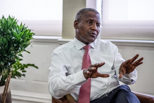 I'm not a co-owner of Execujet - Dangote