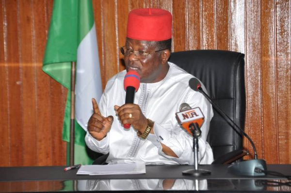 I won't stop inspecting projects in spite of security challenge —Umahi