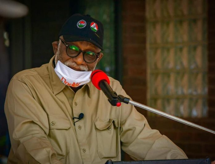 Akeredolu to reduce fees in Ondo State-owned tertiary institutions