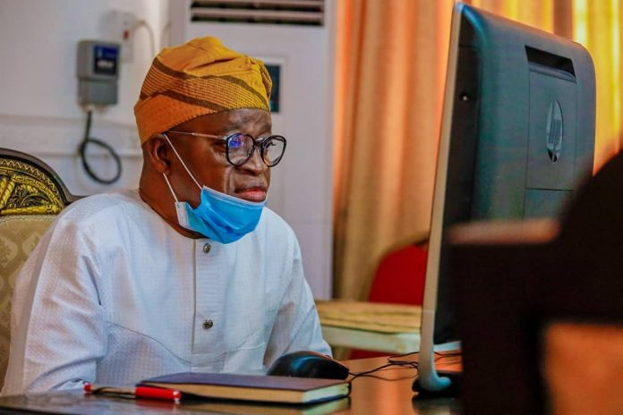 EndSARS: Oyetola inaugurates 12-man Judicial Panel of inquiry on police brutality