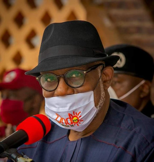 COVID-19 palliatives: We've touched over 200,000 households - Akeredolu