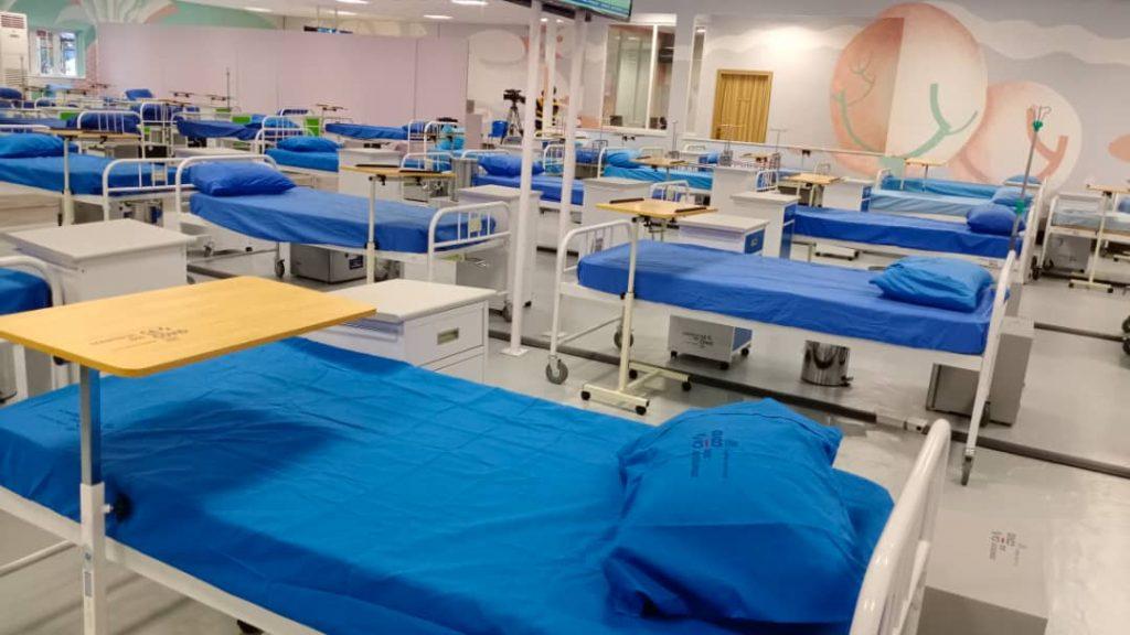 CACOVID donates 150-bed isolation facility to Lagos
