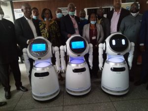 COVID-19: Unilag gets robots for temperature, blood pressure checks, others
