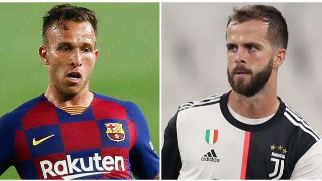 Barcelona sell Arthur to Juventus for 72m euros, buy Pjanic
