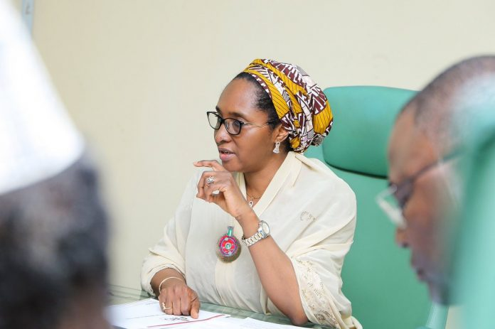 Finance Minister, Zainab Ahmed presents draft 2021 to 2023 MTEF to NEC