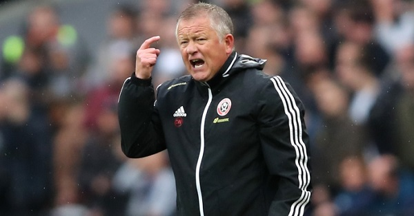 Sheffield United boss, Wilder unconcerned by top-four talks