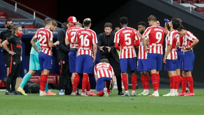Atletico Madrid resume training after two players test positive for COVID-19