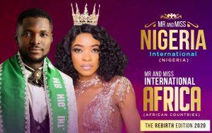 32 contestants qualify for Mr/Miss Nigeria International Pageant