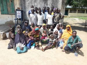 13 B/Haram terrorists, 23 family members surrender to troops in Borno