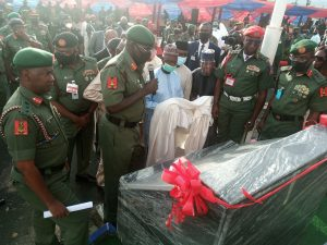 Buratai inaugurates military police headquarters in Abuja