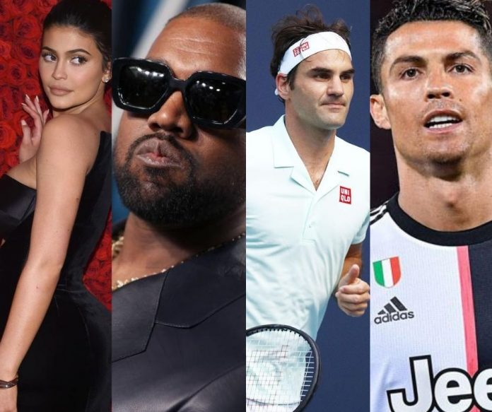 Kylie Jenner, Kanye West top list of world's highest-paid celebrities for 2020