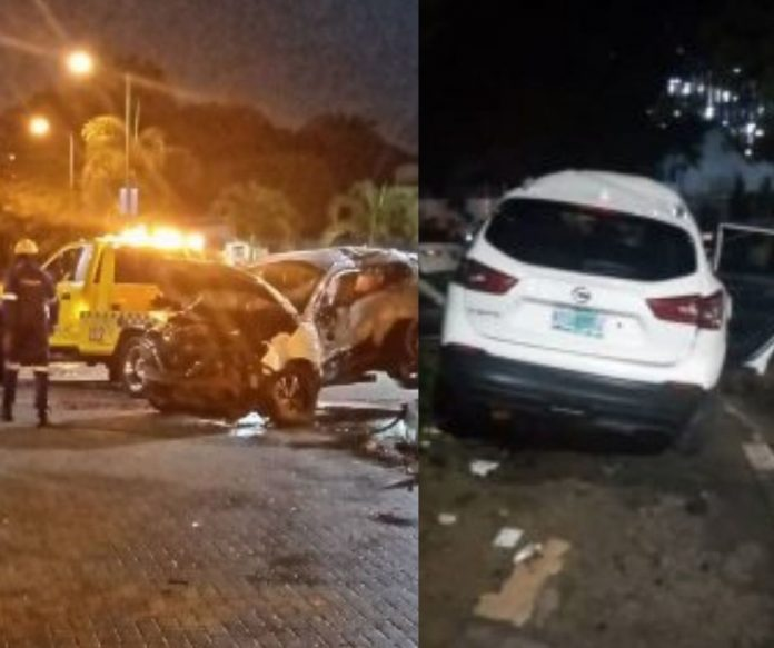 One dead, three injured as 2 vehicles collide in Lagos