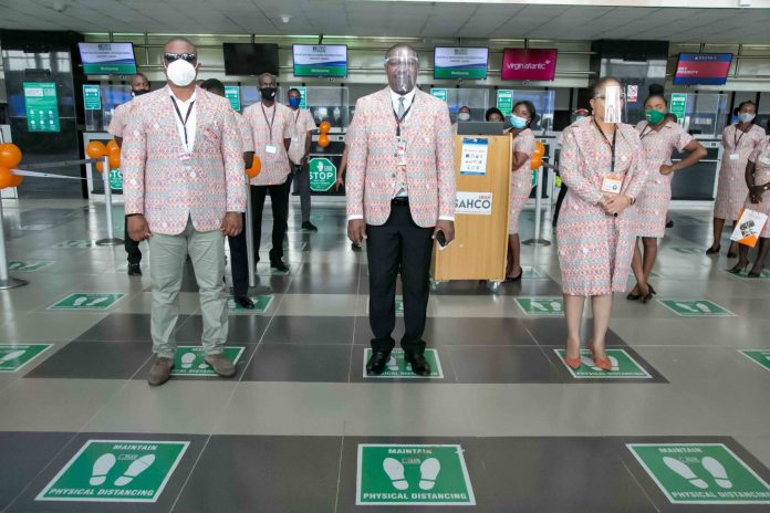 SAHCO introduces Ankara uniform for operational staff
