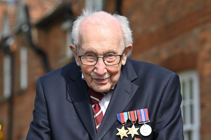 Coming to a cinema near you: The life of UK's Captain Tom