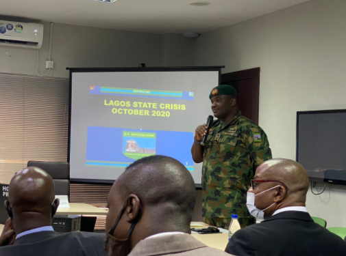Lekki Tollgate: A portion of the force were carrying live bullets - Army