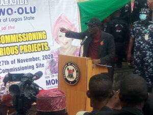 Encourage council chairmen to do more projects, Sanwo-Olu tells Lagos residents