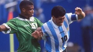 Tribute to Maradona: Why Super Eagles lost to Argentina at U.S.A. '94 – AdepojuTribute to Maradona: Why Super Eagles lost to Argentina at U.S.A. '94 – Adepoju