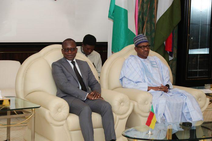 Buhari hosts Beninese President, Patrice Talon, at Aso Villa
