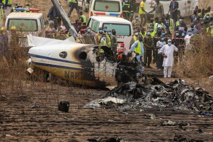 Plane crash: NAF announces names of victims