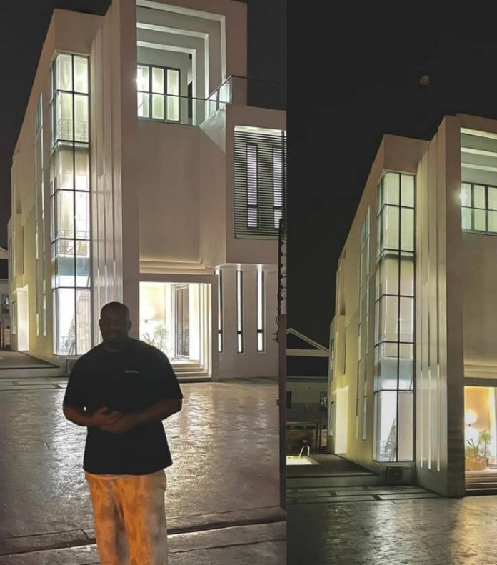 PHOTOS: Donjazzy shows off new mansion