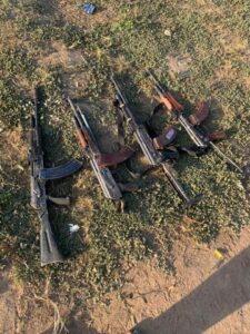 Troops recover 4 AK-47 rifles from bandits in Kaduna