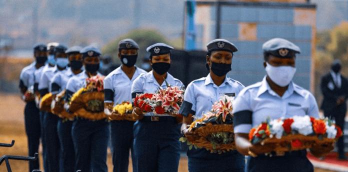 Plane crash: NAF buries officers
