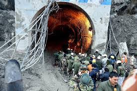 Race to rescue people trapped in Indian tunnel goes into 3rd day