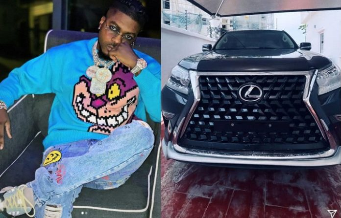 Skiibii buys himself a brand new Lexus SUV (Photos)
