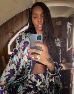 Tiwa Savage shuts down pregnancy rumours